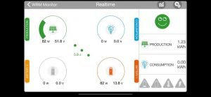 App BioStile - produzione e consumo energia